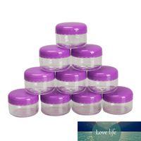 Nouveaux 10pcs Mini Cosmétique Pot Jar Vide Pauvres Maquillage Maquillage Face Crème Conteneur 5G Petite Boîte ronde Bouteille de crème utile -27