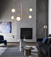 Modern ve basit avize ışıkları moda sihirli fasulye restoran kolye aydınlatma tasarımcısı yatak odası oturma odası şube kolye lambaları