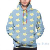 Mens Hoodies Camisola para mulheres engraçado Paopu frutas (Kingdom Hearts) imprimir o hoodie Casual Streatwear