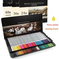 24 36 48 72 Renkler Boyama Renk Kalem Seti Sanat Çizim Kalemler Renkli Su Renkleri Penceses 05401