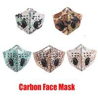 사이클링 페이스 마스크 야외 스포츠 훈련 마스크 방풍 방진 PM2.5 이동식 실행 활성 탄소 필터 빨 수있는 마스크