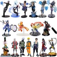 10-20 cm Anime Cartoon Naruto Figur Kakashi Obito Sasuke Minato Hinata Hashirama 20 Arten PVC Action Modell Sammlbare Kinderspielzeug Q1123