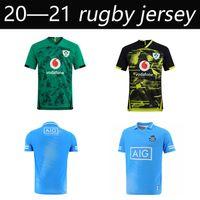 2020 2021 İrlanda Rugby Formalar 2020 Dünya Kupası İrlanda Ulusal Takım Eve Uzakta Rugby Mens S-5XL League Yüksek Kaliteli Gömlek