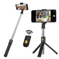Multifunktions-drahtloser Bluetooth-Selfie-Stick Faltbares Handheld-Monopod-Shutter-Fernbedienbares Mini-Stativ für Smartphone