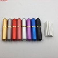 80pcs aromathérapie huile essentielle aluminium vierge nasal inhalateurs nasaux avec mèche de coton de haute qualité (8 couleurs à choisir) High Qualtiy
