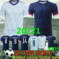 2021 Thai Escocia Fútbol Jersey Euro Copa 2020 Escocia Camisa de fútbol Escocia Robertson Fraser Naismith McGregor Christie Forrest McGinn Camiseta F