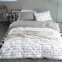Bedding Sets LOVINSUNSHINE Bed Cover Set Luxury 2 Or 3pcs Satin Jacquard Duvet With Zipper Closure 11#