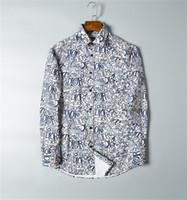 2020 US Business Brand Brand sottile camicia a quadri, moda designer marchio manica lunga cotone camicia casual ship shipe camicia cooperativa taglia M-4XL # 99