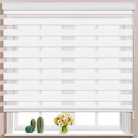 Modern Blackout Curtains Harvard/Manual Zebra Roller Blinds with Hood Home Decoration Suitable for Living Room Bedroom