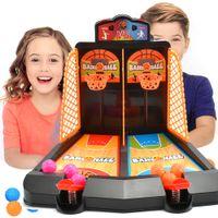 Tischplatine Spiel Finger Auswurf Basketball Court Educational Elternkind Interaktives Kind Mini Bounce Shooting Spielzeug