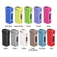 정통 Yocan Uni Pro 박스 Mod 배터리와 OLED 디스플레이 650mAh 예열 VV vape 상자 100 % 원래