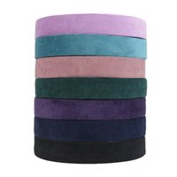 Reine Farbe Cord-Seidenschärpe 38mm Breite Band Headwear DIY Handgemachte Materialteile Multicolor Heißer Verkauf 2 2 AM J2