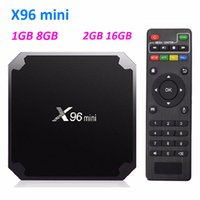 X96 Mini Android 9,0 Amlogic S905W TV Boîte 1GB 8GB / 2GB 16GB Lecteur 4K Smart Android TV Boîte VS TX3 MXQ Pro