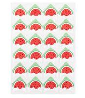 Neues Zuhause 24 Aufkleber / Blatt DIY Obst Cartoon Fotoecke Nette Papieraufkleber für Fotoalben Ausgezeichnete Handarbeit Frame Scrapbooking Set