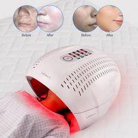 7 цветной PDT светодиодный фотонный светильник терапии лампы красоты для лица кожа затягивают омоложение Ance Metsired Memberover устройство корейской стороны маска для лица