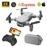 RC drone uav quadrocopter avec caméra 4K HD WIFI FPV FPV une touche Retour à distance Contrôle de la télécommande Dron Hélicoptère pliable Global Jouet populaire 201221