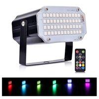 48 LED-parti Ljus Laser Lampor Strobe Light