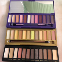 DHL Free Hot New Trucco 12 Color Mix Reloaded Honey e UltraVoilet Eyeshadow Palette in magazzino con regalo