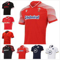 2020 2021 Wales Schottland Rugby Jersey 20 21 Home Away Welsh Größe S-5XL Scottish Shirt Maillot Camiseta Maglia