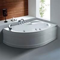 Neues Design Indoor Spa Jet Whirlpool Ecke Massage Badewanne