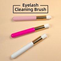 1Pcs Wimper Reinigungsbürste Augenbrauen Nase Mitesser Reinigungsbürste Lash Shampoo Professionelle Wimpernverlängerung Werkzeuge