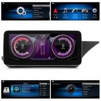 10.25in Araba GPS Navigasyon Multimedya Player Kapasitif Dokunmatik Ekran 4 + 64g E Sınıf W212 RHD 2009-2012 NTG 4.0 için Fit
