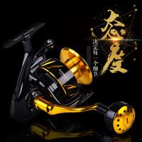 LUREKILLER JAPÓN HECHO COMPLETO METAL Spinning Rollar de jigging Saltista CW3000-10000 Reel de hilado de agua salada 201126