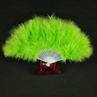 12 pollici 21 pezzi Plastic Bone Feather Fisia Ventilatore Pieghevole Pieghevole Feather Ventilatore Flapper Accessori per matrimoni Fase Multi-Color Seleziona HHE3299