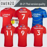 20 21 Nottingham Floresta Futebol Jerseys Lolley Grabban 2020 2021 Watson Cash Football Camisa Silva Ameobi Men + Kid Kit Tailândia Jersey