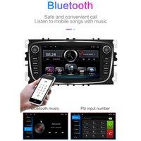 자동차 DVD 라디오 멀티미디어 비디오 플레이어 7 인치 GPS 안 드 로이드 8.1 2 DIN Ford Focus Exi Mondeo 9
