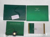 원래 올바른 일치하는 녹색 소책자 용지 보안 카드 탑 시계 상자 상자 소책자 무료 프린트 맞춤 카드 선물