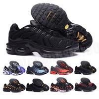Vapormax TN Plus 2021 Yeni Sıcak Satış Renkleri Toptan Yüksek Kalite Sıcak Satış TN erkek Koşu Spor Ayakkabı Sneakers Eğitmenler Ayakkabı Boyutu 7-12