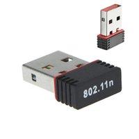 150m USB 와이파이 무선 어댑터 150Mbps IEEE 802.11n G B 미니 antena 어댑터 칩셋 MT7601 8188 네트워크 카드 DHL을 통해 무료 배송