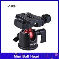 ANDOER Mini Ball Head Tabletop Treppiede Supporto Panoramico Fotografia Panoramica Testa Panoramica per Canon Nikon Sony DSLR DSLR Telecamera con specchio Camcorder1