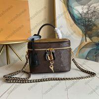 Vanity PM nice bb desde 1854 mulheres sacos de couro mini bolsa de bolsa de bolsas de ombro totem57403 m45165 m57118 m45599 m45598