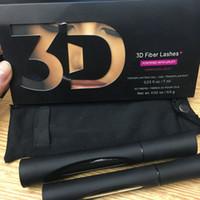 2pcs de haute qualité = 1set 1030 fibres 3D fibre de fibre imperméable double mascara allongée 1030 Version mascara noir couleur DHL