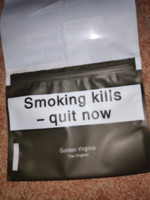 Top Verpackung Zigarettenschachtel Rauchen Tabak Goldene Virginia Zigarette Tabak 10PACKS = 500g / Los Sammlung Kunststoff Boxer Tabak