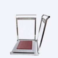 2021 Son Sıcak Salehigh İhracat Kaliteli Çikolata Kesme Makinesi / Kol Manuel Çikolata Kesici / Peynirli Kek Gitar Dice Machine300 * 300mm