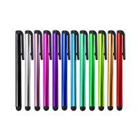 Pantalla táctil capacitiva del lápiz del lápiz para iPad Air 2/1 Pro 10.5 Mini 3 Touch Pen para iPhone Smart Phone Tablet Lápiz