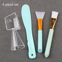 Pinceles de maquillaje Máscara facial Cepillo de silicona Soft Tip Herramientas de belleza Ajuste de la película Stick Set Cosmetic