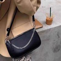 Bolsa de ombro de HBP bolsa bolsa bolsa bolsa bolsa mulher sacos de designer de alta qualidade textura de alta qualidade cadeia de moda três em um