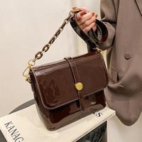VeryMe New Arrival Pu Female Shoulder Bags Portable Bright Leather Messenger Pack Vintage Fashion Women's Handbag Borse Da Donna