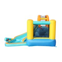 Garden Supplie Inflatable Bounce House Water Slide Bouncy Houses Waters Park Combo for Kids Outdoor Party with Air Blower Fast Delivery