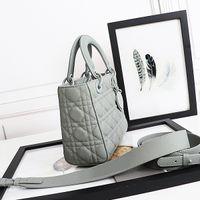 LY5x Bags Quality High Handbags Women Designers Luxurys Canvas Pink Designer Vider