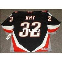 121s # 32 roubo raio búfalo sabre 1999 ccm longe hóquei jersey ou personalizado qualquer nome ou número retro jersey