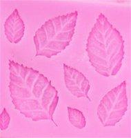 Diy تزيين الكعكة إمدادات سيليكون روز مابل ليف العفن المطبخ الوردي محفظة الحلول قوالب الشوكولاتة الوردي جودة عالية 1 75JH M2