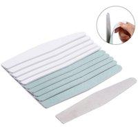 5 Arten Metall Nagel File Sandpapier Pufferstreifen Klebstoffkissen Edelstahl Griff doppelt seitlich Kalluses Entferner
