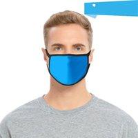 Cor sólida Máscara de poeira em branco máscara de rosto preto desenhos animados adulto crianças máscara de pano maskkeeping designer masks 87 J2