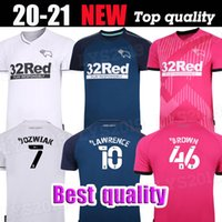 32 Rooney 20 21 Derby County Soccer Jerseys Home Weew Away 2020 Home Camisetas de Fútbol Marriott Lawrence Waghorn Man + Kit Kit Kit Football Shirts