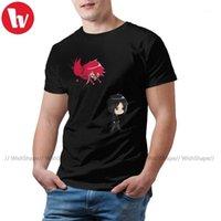 남자 티셔츠 블랙 버틀러 티 셔츠 오 티시 티셔츠 큰 남성 티 캐주얼 재미 100 코튼 그래픽 짧은 소매 tshirt1